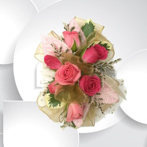 Pretty in pink wrist corsage milwaukie florist milwaukie floral home mightylinksfo